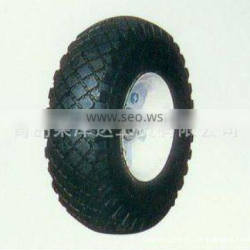 specification standard inflatable high quality rubber wear-resisting pneumatic wheel ypr004