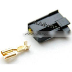 1 Pin Female Horn Connector Fit For T-oyota L-exus 90080-10619