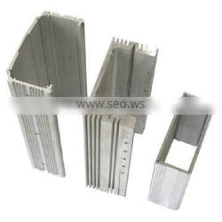 mill finish aluminum heat sink profile