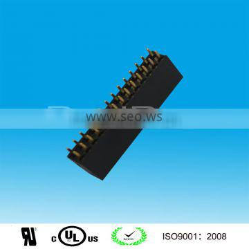 Gold Plated 2.54mm Pitch DIP header female connector