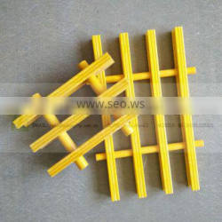 High strength and durable industrial pultruded platform walking FRP grating, fibreglass floor grating, plastic grating Quality Choice