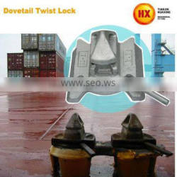 Container Parts Lashing Bovetail Twist Lock Marine Container ISO
