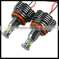 H8 80W per set car LED angel eyes halo rings marker bulb