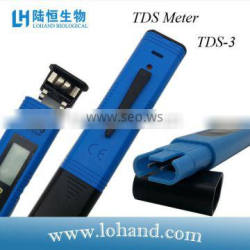 China supplier easy operate professional hand held TDS tester