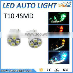 12 volt led lights auto light led fog light t10 4smd 1210