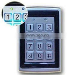 Proximity door access control with card reader
