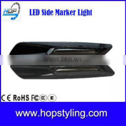 new products china suppleir LED Glossy black chromed Side marker light for E81 E82 E87 E88 Clear Lens/Smoke Lens car LED light