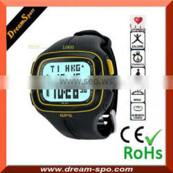 Wristwatch GPS Receiver + Location Finder with Display Screen GPS tracker pocket watch