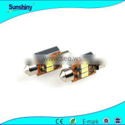 C5W Festoon Automotive LED light with 3pieces 5630SMD 39mm, 42mm
