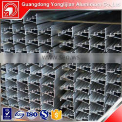Aluminum extruded profile used in sliding and casement door and window