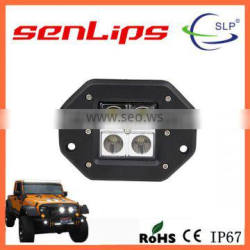 16W square waterproof led work light high lumen offroad led light