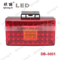 24v universal trucks trailers led fog tail light led auto rear fog lamp