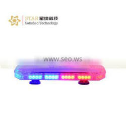 police emergency red and blue led warning lightbar