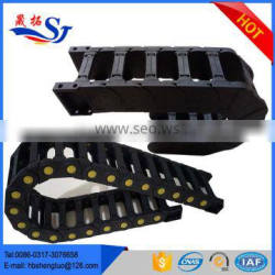 Reinforced Nylon Cable Carrier Plastic Chain Sleeve for CNC Machine