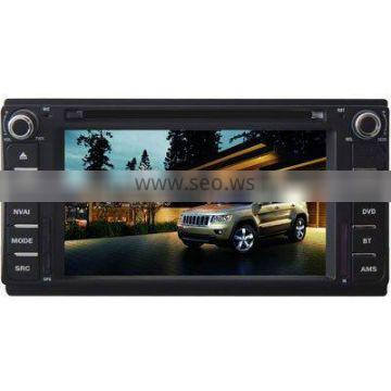 """6.2"""" Car DVD GPS player for Jeep Wrangler with 8CD,BT,IPOD,TV and IPHONE menu"""