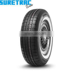 Top quality Wider White Wall P235/75R15 for Pick Up/SUV SURETRAC brand