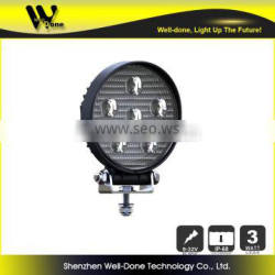 Round shape led working lamp for tractor