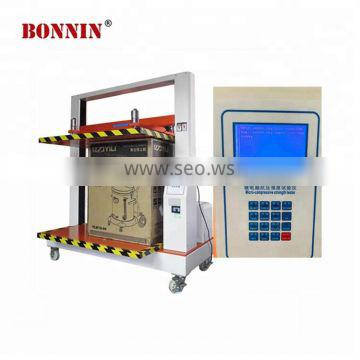 Large lcd screen english display sell well used box compression tester