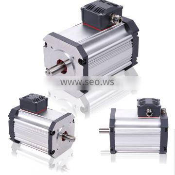 Smooth running 110Vac brushless motor 1000W 3000rpm with high efficiency
