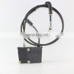 HYUNDAI Excavator Electric Parts Throttle Motor With 2.2 Meters Three-hole For R275-9