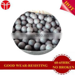 B3 2.5inch forged steel ball for gold mine