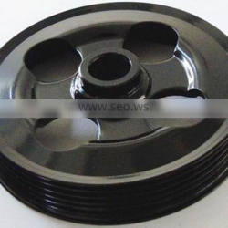 top quality Stamping parts Customized metal Belt Pulley Folding wheel