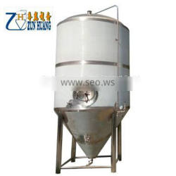 1000L 2000L 3000L large beer brewing equipment double layer beer fermenter fermentation tank for brewery plant