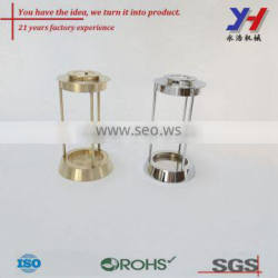 OEM ODM Custom Fabrication of Brass Candle Holder Five-Star Hotel Adornment Unique Ornaments