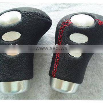 real leather universal gear knob cover