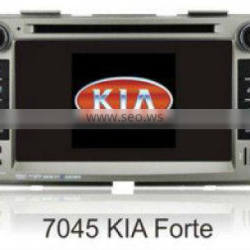 7inch 2 din in dash car dvd player for kia forte with gps bt radio tv usb ipod