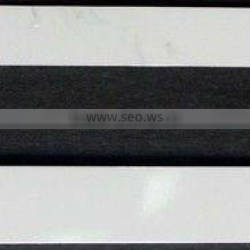 White Dye Sublimation License Plate Frame Strips-Quantity Discounts Given