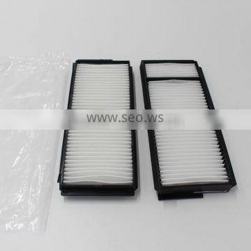 CHINA WENZHOU FACTORY SUPPLY FABRIC CABIN FILTER BP4K61J6X/BP8P-61-J6X/CU22001-2 AIR CONDITIONING FILTER