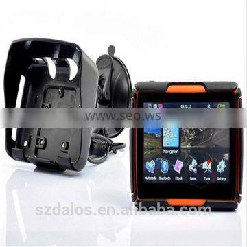 "Moto Waterproof IPX7 4.3""TFT Touch Screen GPS Navigation Motorcycle gps with free map"