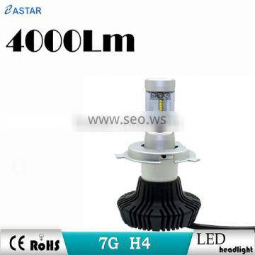 Car H4 light High low beam H4 car led head light with best quality and hot sale and excellent lighting shape