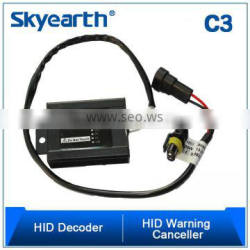 car hid warning canceller/canbus decoder/hid flicker capacitor