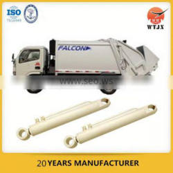 double acting telescopic hydraulic cylinder for garbage compactor