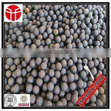 90mmForged steel ball low breakage for power plant
