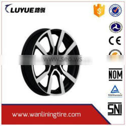 Factory Wholesale Hot Quality jwl via alloy wheels rims for cars