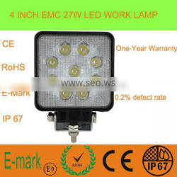 "4"" 27W LED Working Light for Auto LED Work Light LED Tractor Working Lights"