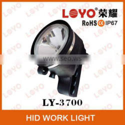 car accessories for h3 hid xenon work light, HID working light for heavy duty, HID working light lamp