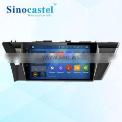 For Corolla 2014 car dvd navigation with gps Android 5.1 quad core hd touch screen