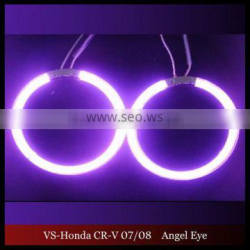 CRV CCFL ANGEL EYES NON PROJECTOR HALO RING FOR HONDA CRV 07/08 CCFL ANGELEYES LIGHTS PURPLE