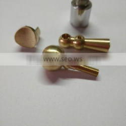 OEM (Milling /Turning) Saxphone/Trumpet Brass(HP59-1)/SS304 316 double-direction thrust ball