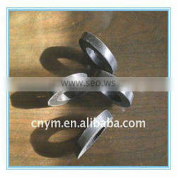 Industrial flat rubber ring