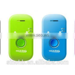 GPS personal tracker for tracking kids/pets with SOS button