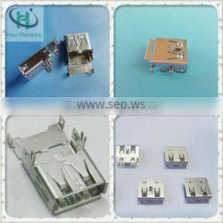 Metal stamping usb a connector