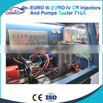 Common rail injector pump test equipment for Bos ch, Del phi, Denso, Siemens ,cat light commercial road vehicles ZQYM718A