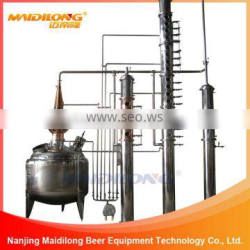 China professional Maidilong copper distiller alcohol