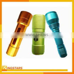 Colorful anodized aluminum cnc turning parts, high precision machining cnc parts