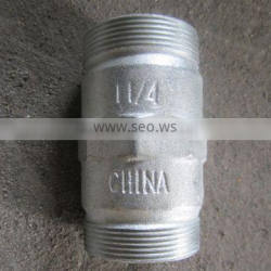 Galvanized Cast Iron Pipe Connectors for Construction Use